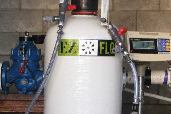 EZ-FLO HF system test rig