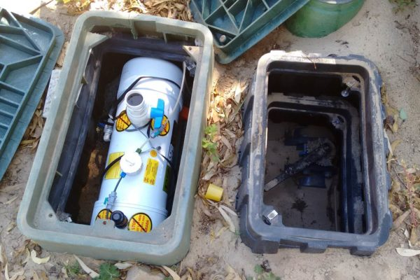 010HC unit in valve box situated at Daran Park, Nedlands City Council, WA,